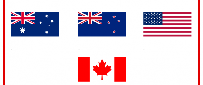 FLAGS | English-speaking countries